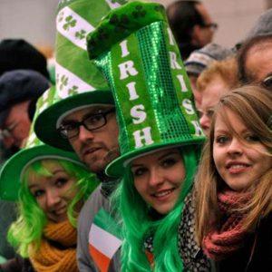 Saint-Patrick et Irlande-Angleterre à Dublin le même WE