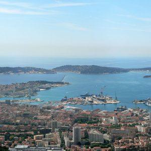 Toulon, la Rade, les Sablettes et Six Fours